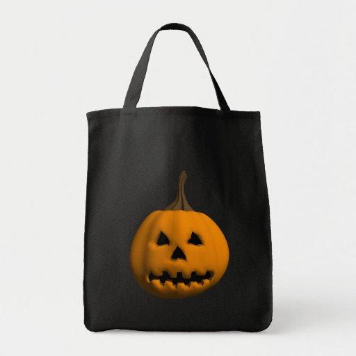 Halloween: Jack-o-Lantern: Tote Bag