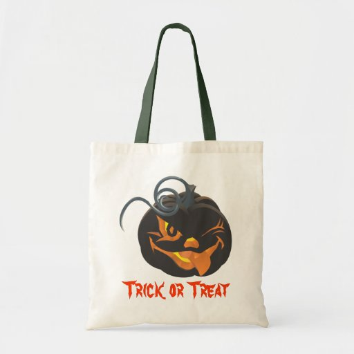 Halloween Jack o lantern Bag