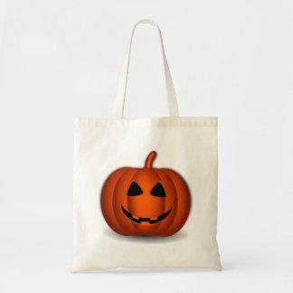 Halloween Jack-O-Lantern Tote Bags