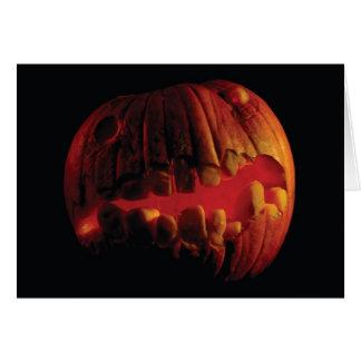 Halloween Jack-O-Lantern  Blank Inside Card
