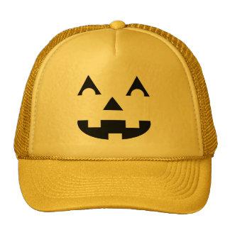 Halloween Jack O Lantern Cap