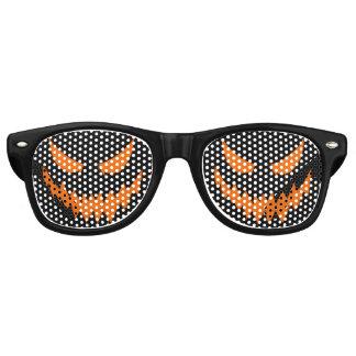 Halloween Jack-O-Lantern Costume Glasses (Black)