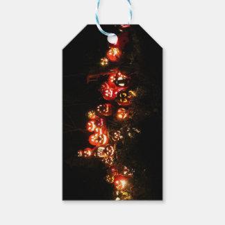 Halloween Jack O Lantern Gathering Gift Tags