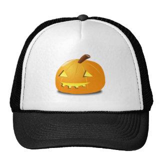 Halloween Jack-o-Lantern Trucker Hats