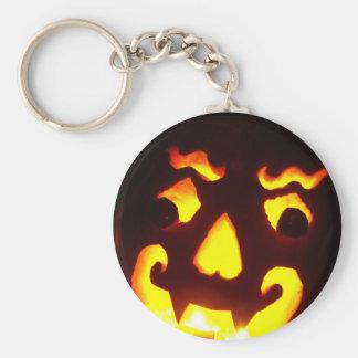 Halloween Jack-O-Lantern Keychains
