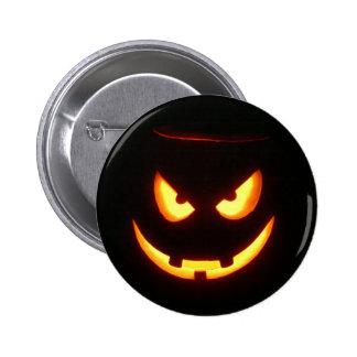 Halloween Jack-O-Lantern Mug Pinback Buttons