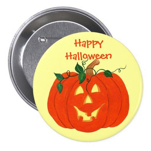 Halloween Jack-o-lantern - Pin