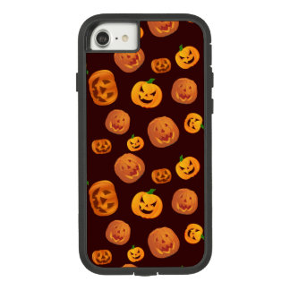 Halloween Jack-O-Lantern Pumpkin Pattern Case-Mate Tough Extreme iPhone 8/7 Case