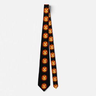 Halloween Jack o Lantern Pumpkin Tie