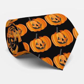 Halloween Jack-O-Lantern Tie