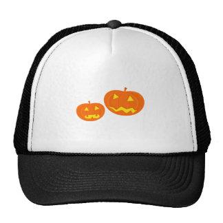Halloween Jack-O-Lanterns Mesh Hats