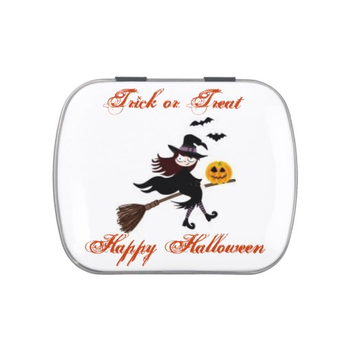 Halloween  Jelly Belly  Tins Candy Tin
