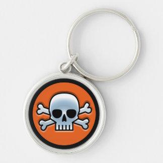 Halloween 'Jolly Roger' Key Ring