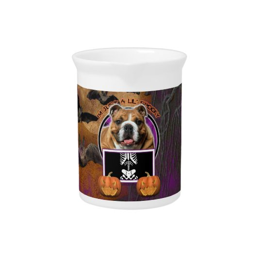 Halloween - Just a Lil Spooky - Bulldog Drink Pitcher