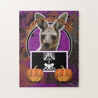 Halloween - Just a Lil Spooky - Kangaroo Puzzle