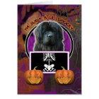 Halloween - Just a Lil Spooky - Newfoundland Card