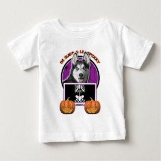 Halloween - Just a Lil Spooky - Siberian Husky T-shirts