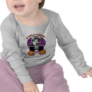 Halloween - Just a Lil Spooky - Siberian Husky Shirts