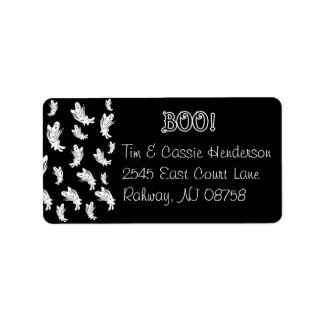 Halloween - Just Ghostly - Customize Label