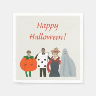 Halloween Kids Costumes Pumpkin Dice etc. Napkins Disposable Serviette