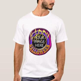 Halloween Kids Dark T-Shirt Vertical Template
