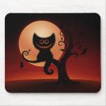 Halloween Kitten Mousepads