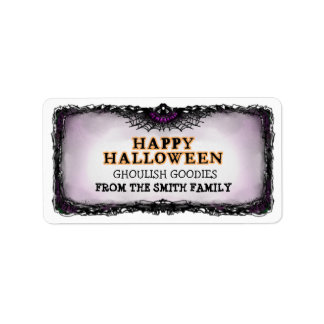 Halloween Label Happy Halloween - A Treat for You Address Label