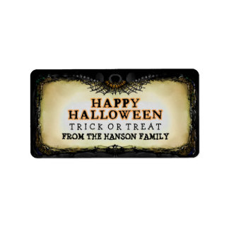 Halloween Label Happy Halloween - Treats Label Address Label