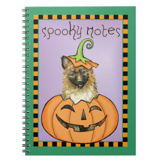 Halloween Laekenois Notebook
