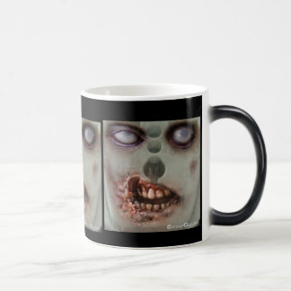 Halloween Landfill Zombies Morphing Mug