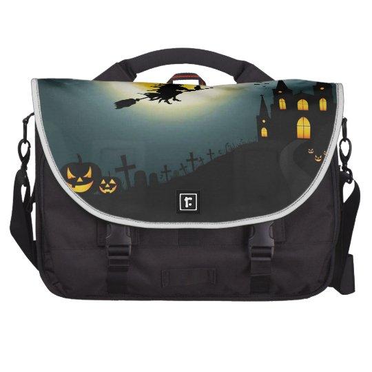 Halloween landscape bag for laptop
