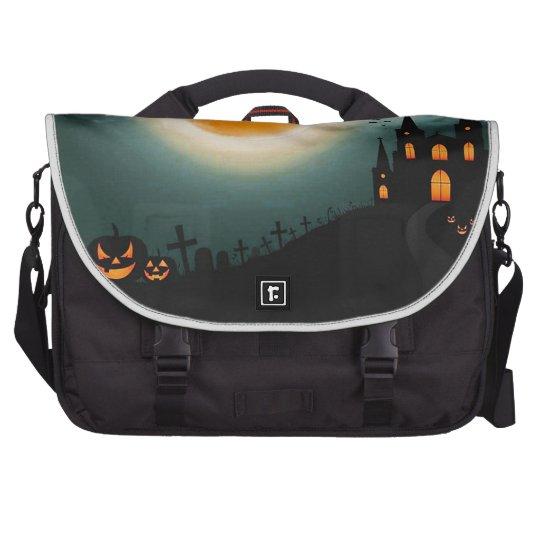 Halloween landscape bags for laptop
