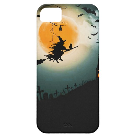 Halloween landscape barely there iPhone 5 case