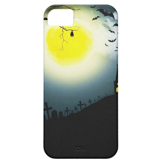 Halloween landscape case for the iPhone 5