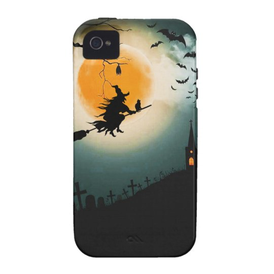 Halloween landscape Case-Mate iPhone 4 cover