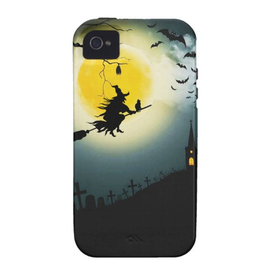 Halloween landscape Case-Mate iPhone 4 covers