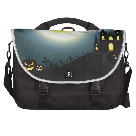 Halloween landscape computer bag