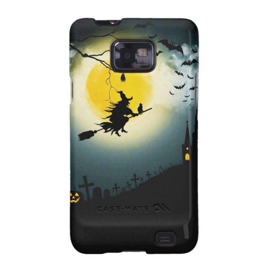 Halloween landscape galaxy s2 case
