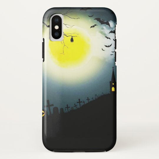 Halloween landscape HTC vivid case