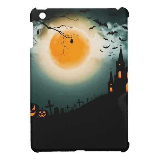 Halloween landscape iPad mini cases