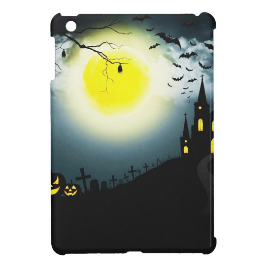 Halloween landscape iPad mini covers