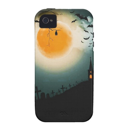 Halloween landscape iPhone 4/4S cover
