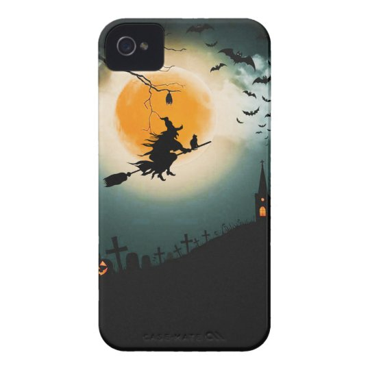 Halloween landscape iPhone 4 covers