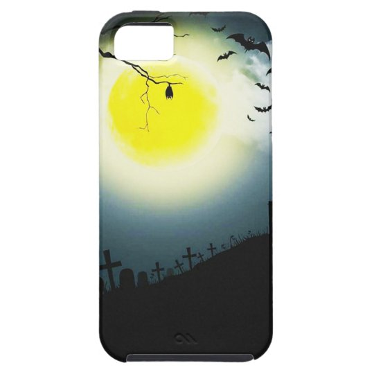 Halloween landscape iPhone 5 cover