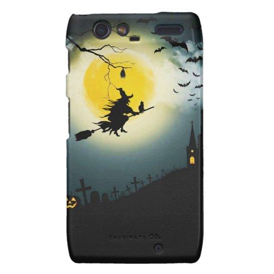 Halloween landscape motorola droid RAZR cover