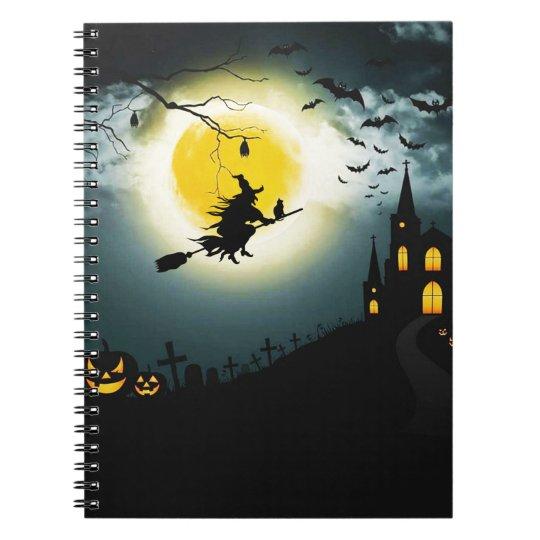 Halloween landscape notebooks