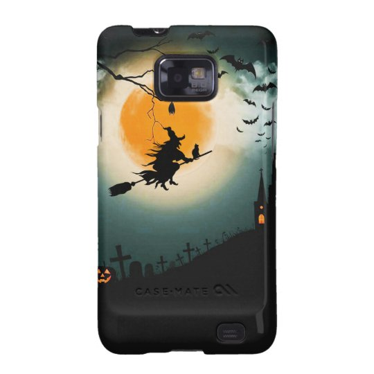 Halloween landscape samsung galaxy s2 covers