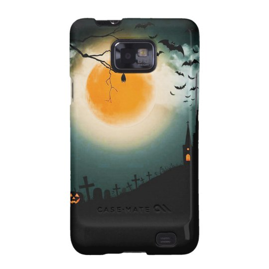 Halloween landscape samsung galaxy SII cases
