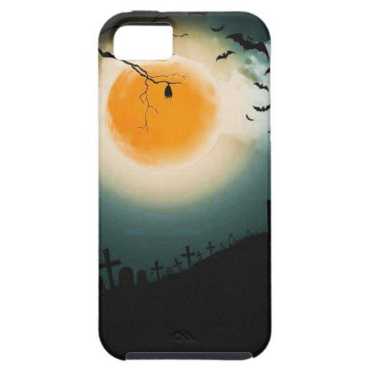 Halloween landscape tough iPhone 5 case