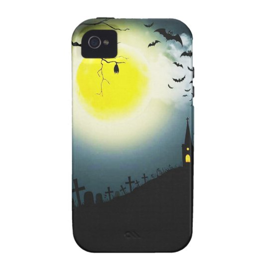 Halloween landscape vibe iPhone 4 cover